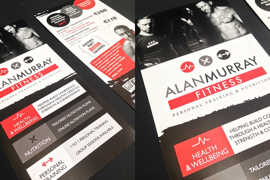 Portfolio - Alan Murray Fitness - Branding