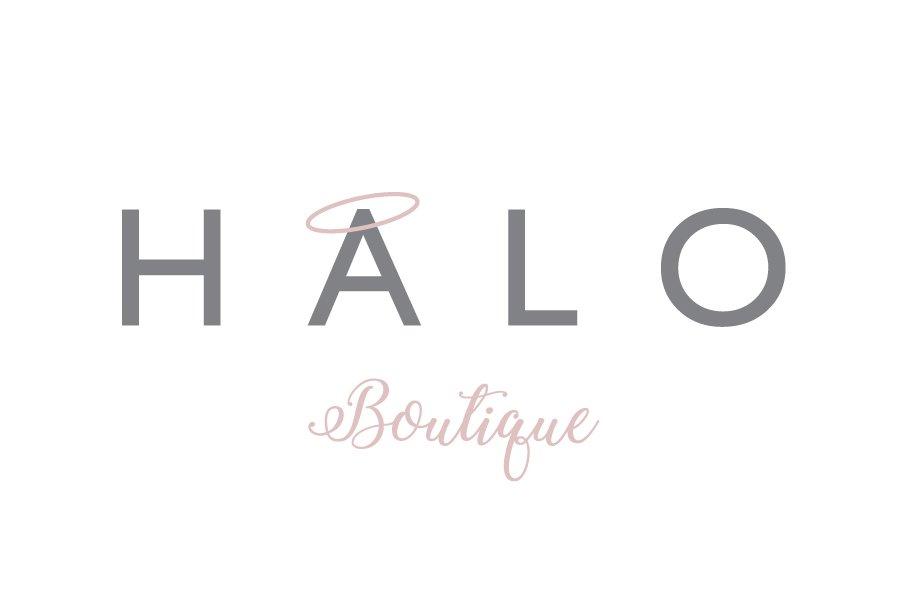 Portfolio - Halo Boutique - Logo Design