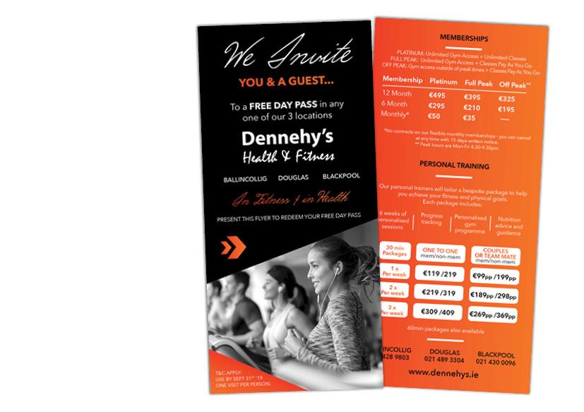Limelight Media Cork - Dennehy's Health & Fitness - PR agency, Marketing Cork