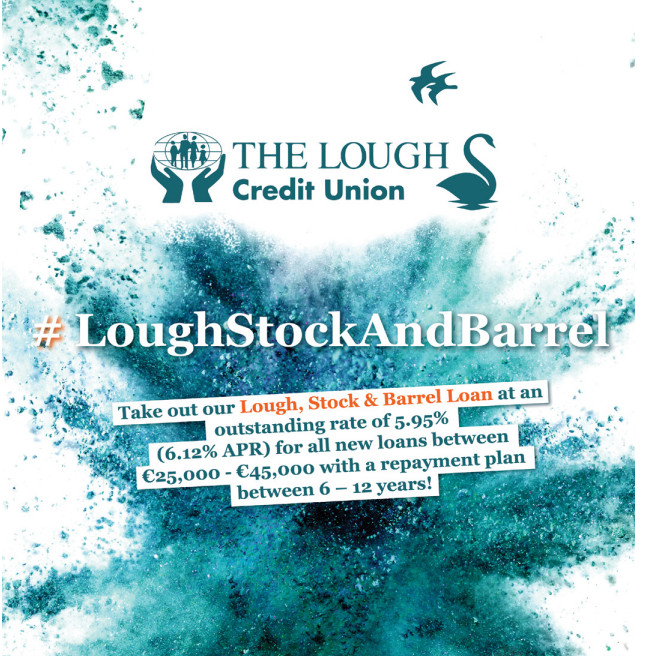 Limelight Media Cork | The Lough Credit Union | Branding, Graphic design, Advertising,  Cork